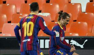Барселона добыла волевую победу над Валенсией