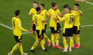 Боруссия Д уничтожила Хольштайн Киль на пути к финалу Кубка Германии