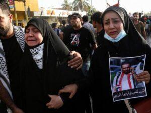 Демонстранты в Ираке подожгли консульство Ирана