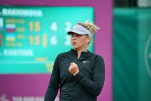 Марта Костюк проходит квалификацию на турнире в Риме