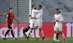 Реал дожал Осасуну в концовке поединка