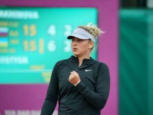 Теннисистка Костюк пробилась в основную сетку турнира WTA-1000 в Риме