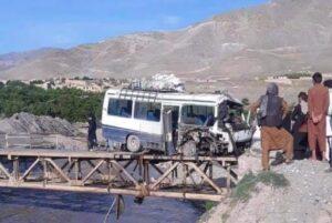 В Афганистане два автобуса подорвались на минах: погибло по меньше мере 13 человек