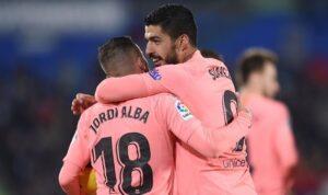 Альба: Луис Суарес многое дал Барселоне, а мы отдали его прямому конкуренту — Атлетико