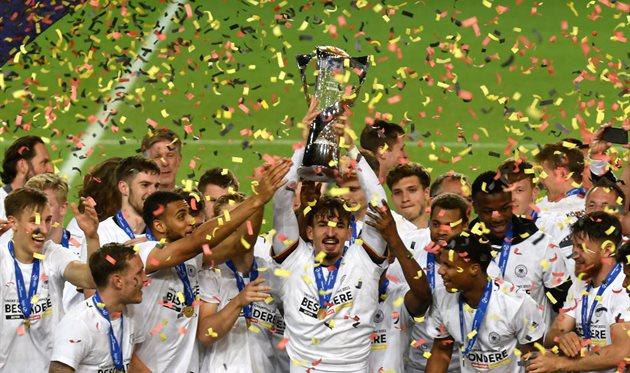 Сборная Германии U-21 - чемпион Европы, Getty Images