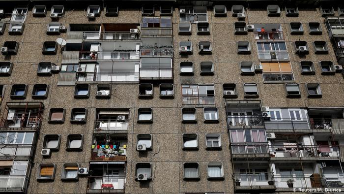 Этот жилой комплекс в новой части Белграда сербы называют Телевизором.