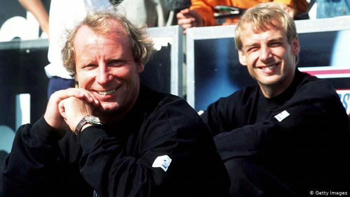 Берти Фогтс и Юрген Клинсман, 1997 год