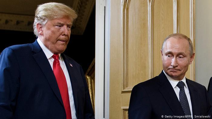 Трапм и Путин