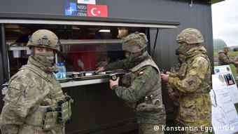 Турецкая полевая кухня на учениях НАТО