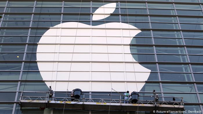 Apple-Logo (Picture-alliance/dpa/C. Dernbach)