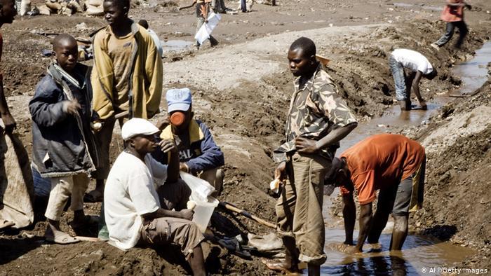 Kupfermine Kongo (AFP/Getty Images)
