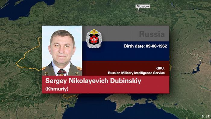 Генерал-майор Сергей Дубинский (по кличке Хмурый), отставной офицер ГРУ армии России