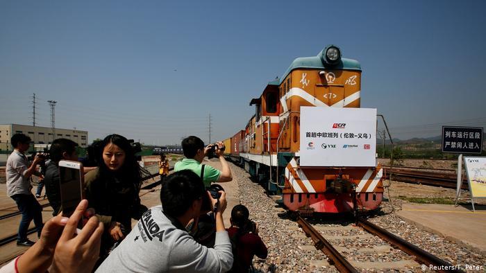 China Seidenstraße London-Jiwu (Reuters/T. Peter)