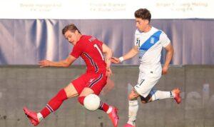 Греция в товарищеском матче обыграла Норвегию