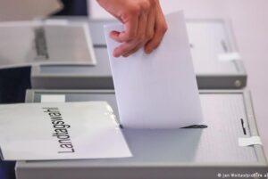 ХДС побеждает на выборах в Саксонии-Анхальт