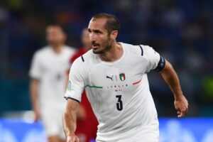 Кьеллини повторил рекорд Италии по количеству чемпионатов Европы