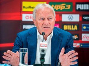 Президент австрийского футбольного союза об игре с Украиной: нужно прыгнуть выше головы