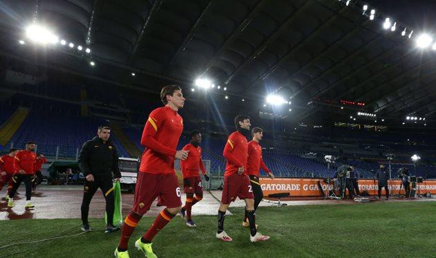 Игроки Ромы, Getty Images