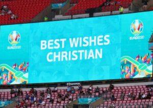 Сборная Бельгии проведет акцию в честь поддержки Эриксена в матче против Дании