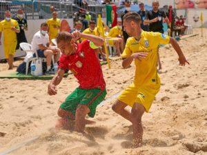 Сборная Украины вышла в Суперфинал Евролиги-2021 по пляжному футболу