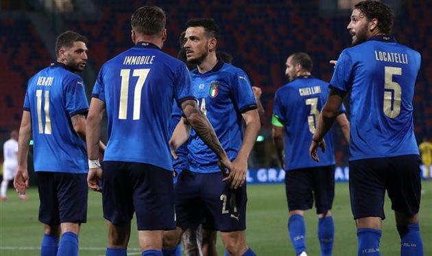 Футболисты сборной Италии, Getty Images