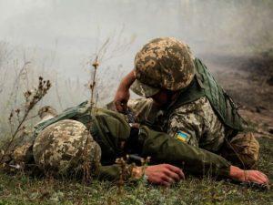 Боевики из гранатометов обстреляли украинские позиции, ранено военного