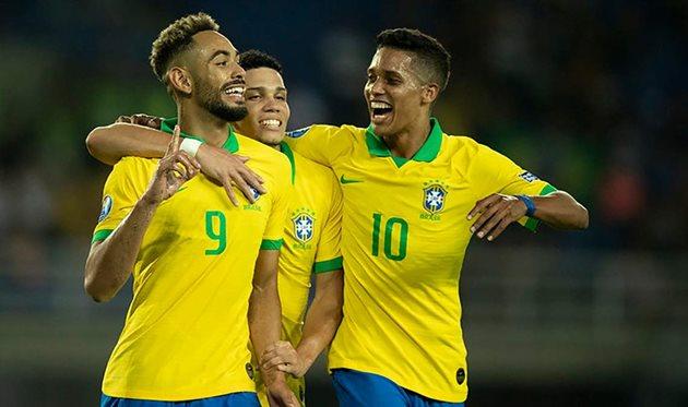 Игроки сборной Бразилии, Getty Images