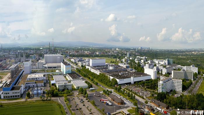 Завод компании Sanofi во Франкфурте-на-Майне