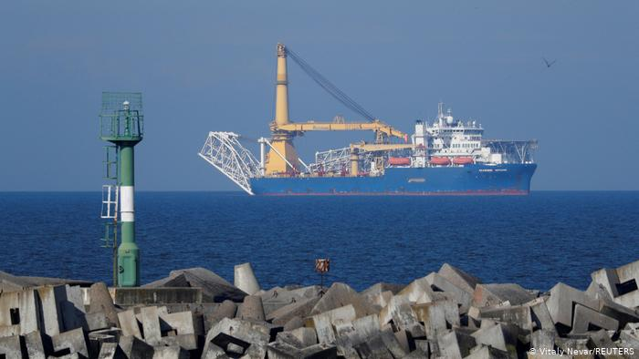 судно Академик Черский в море