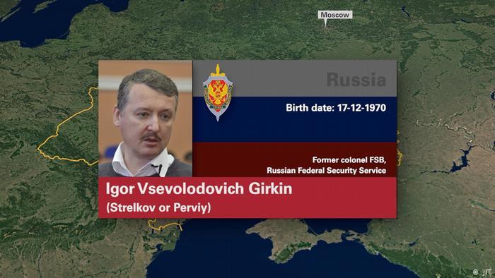 Бывший министр обороны так называемойДНР Игорь Гиркин (Стрелков)