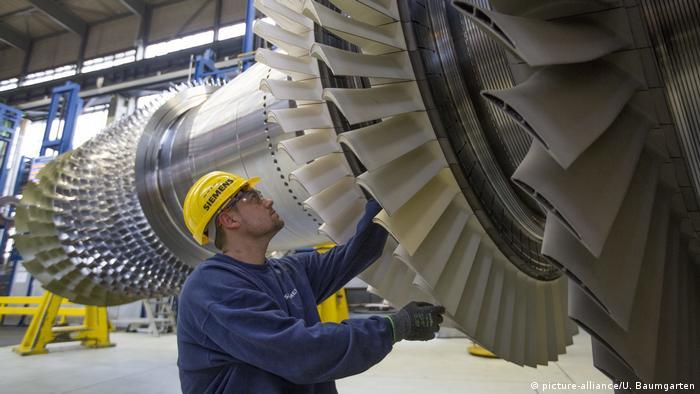 Турбины фирмы Siemens