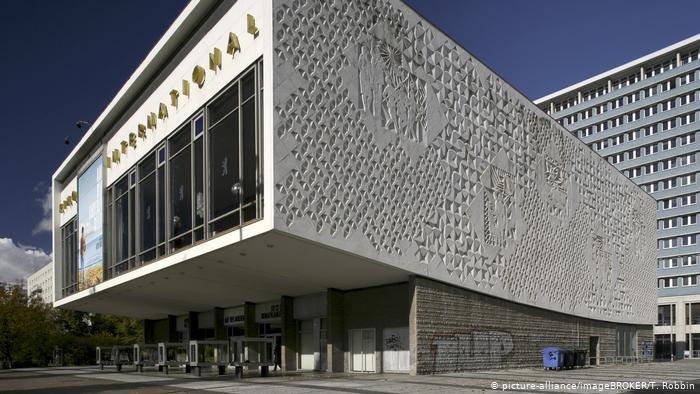 Здание кинотеатра Интернационал в Берлине