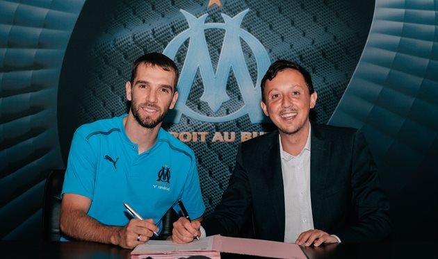 Пау Лопес (слева), фото ФК Олимпик Марсель