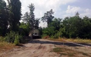 Механики-водители бронетехники ВСУ упражнялись в мастерстве: фоторепортаж