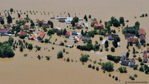 На пострадавшие от наводнения районы Бельгии вновь обрушились дожди