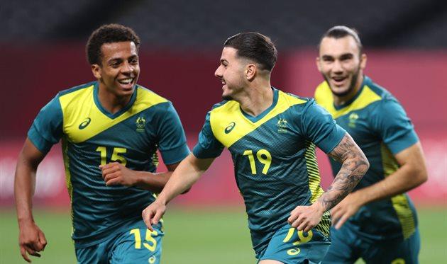 Игроки сборной Австралии, Getty Images