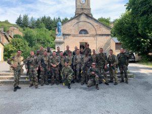 Представники Військового інституту відвідали військове училище у Франції