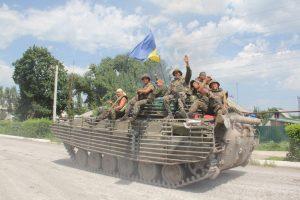 Сім років тому сили АТО звільнили Лисичанськ