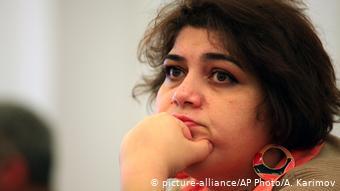 Азербайджанская оппозиционная журналистка Хадиджа Исмаилова