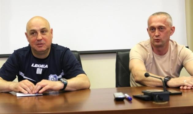 Юрий Мороз (слева), фото Черноморец
