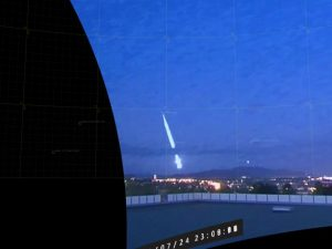 В Норвегии упал большой метеор: пользователи делятся яркими фото и видео