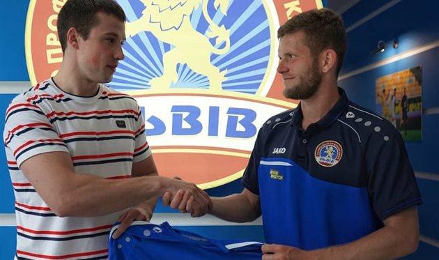 Алексей Зозуля (справа), фото Львов