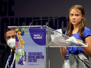 """'30 лет бла-бла-бла """": Тунберг поставила под сомнение климатические переговоры в Италии"""