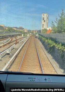 У потязі метро, який пересувається без водія