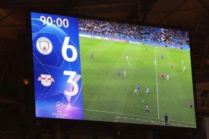 Манчестер Сити обыграл Лейпциг в матче с девятью голами