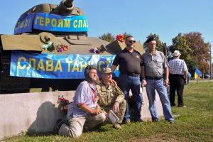 Ветерани-танкісти Полтавщини відзначили своє професійне свято