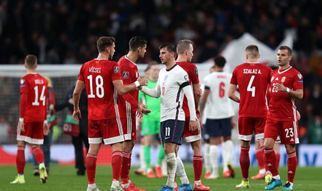 Англия - Венгрия, Getty Images