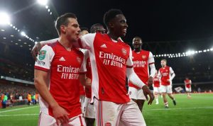 Арсенал уверенно вышел в 1/4 финала Кубка английской лиги