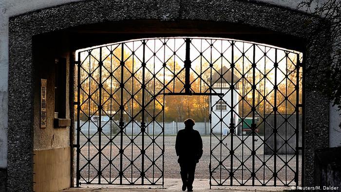 Ворота в концентрационный лагерь Дахау