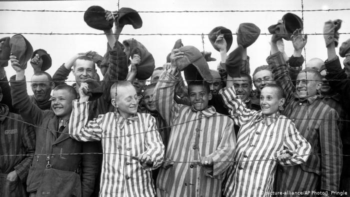 Освобожденные узники Дахау